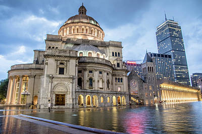 Photograph - Christian Science Center In Boston by Peter Ciro