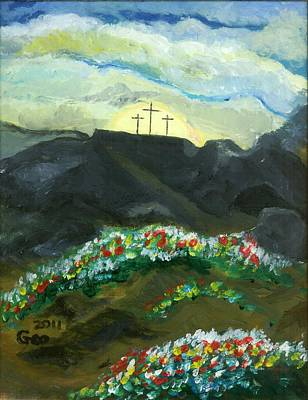 Painting - Christianity  by George M Long