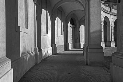Photograph - Christiansborg Arches by Inge Riis McDonald