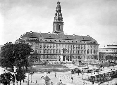 Photograph - Christiansborg Palace by Granger