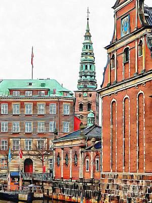 Photograph - Christiansborg Palace Slotsholmen Copenhagen by Dorothy Berry-Lound