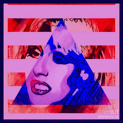 Christina Digital Art - Christina Abstracted by Caroline Gilmore