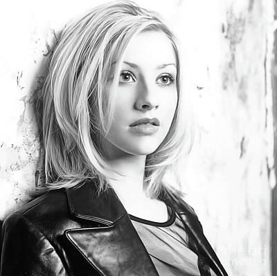 Christina Aguilera Painting - Christina Aguilera by Twinkle Mehta