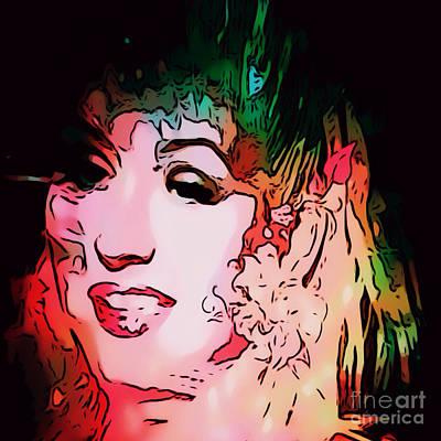 Christina Digital Art - Christina Christina by Caroline Gilmore
