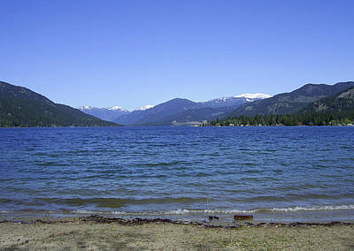 Photograph - Christina Lake Public Beach Grand Forks Bc by Barbara St Jean