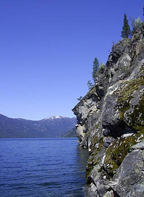 Photograph - Christina Lake Texas Point Grand Forks Bc by Barbara St Jean