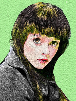 Christina Digital Art - Christina R3 by Bruce Iorio