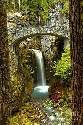Photograph - Christine Falls Framed by Adam Jewell