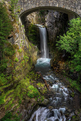 Photograph - Christine Falls by Mark Kiver