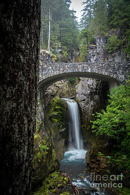 Photograph - Christine Falls, Mount Rainier National Park by Deborah Klubertanz