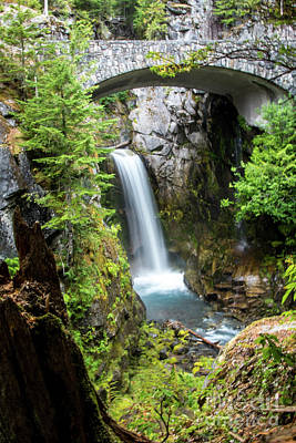 Photograph - Christine Falls, Mt. Rainier by Deborah Klubertanz