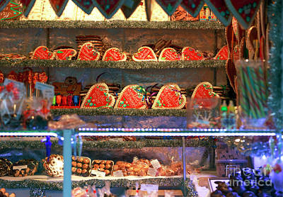 Photograph - Christkindlmarkt Treats Vienna by John Rizzuto