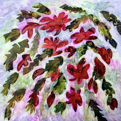 Painting - Christmaas Cactus by Julie Maas