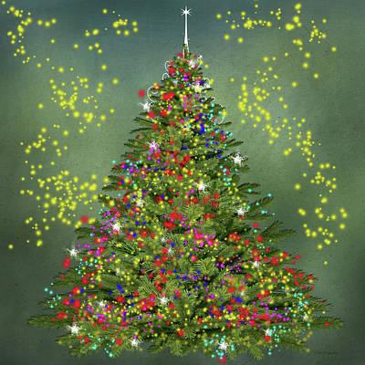 Digital Art - Christmas-2017-006 by Ericamaxine Price