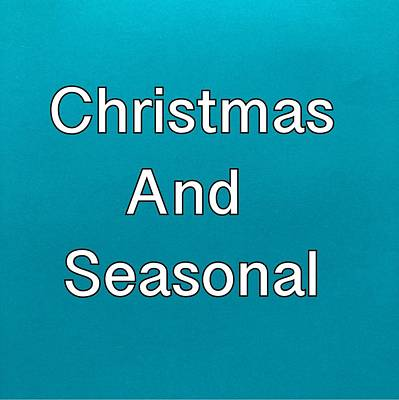 Painting - Christmas And Seasonal Logo by Darice Machel McGuire
