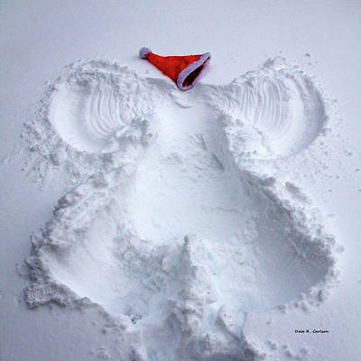 Photograph - Christmas Angel by Bluemoonistic Images