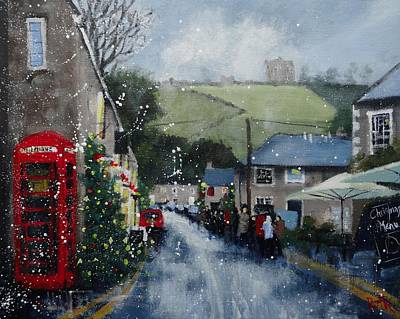 Fantasy Royalty-Free and Rights-Managed Images - Christmas at Castleton by Ruth Gray