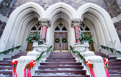 Photograph - Christmas At Church by Crystal Wightman