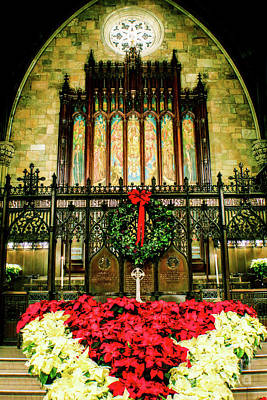 Photograph - Christmas At Church by Sandy Moulder