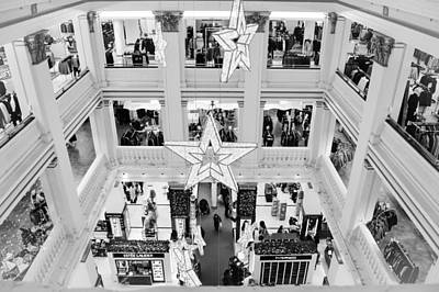 Chicago Photograph - Christmas At Macy's by Kathleen White