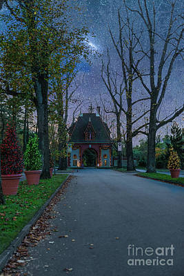 Photograph - Christmas At The Biltmore Estate In Asheville North Carolina by Dale Powell