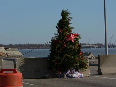 Photograph - Christmas At The Bridge by Kathy K McClellan
