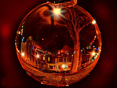 Photograph - Christmas At The Chamber In Wellsboro, Pa by Bernadette Chiaramonte