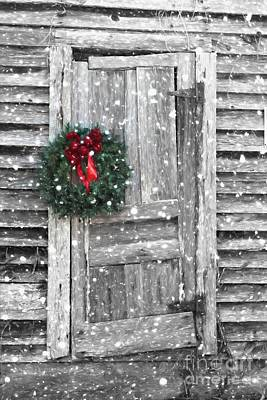 Christmas At The Farm Art Print