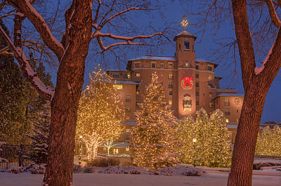 Broadmoor Photograph - Christmas At The Most Elegant Hotel I've Ever Seen by Bijan Pirnia