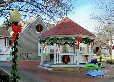 Photograph - Christmas At Village Landing  by Janice Drew