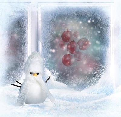 Christmas Mixed Media - Christmas Card by Dani Prints and Images