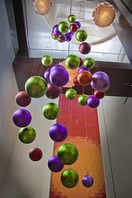 Photograph - Christmas Balls by Joel Gilgoff