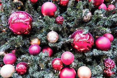 Photograph - Christmas Balls by M G Whittingham