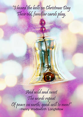 Photograph - Christmas - Bell by Nikolyn McDonald