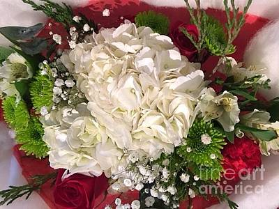 Photograph - Christmas Bouquet  by Jeannie Rhode