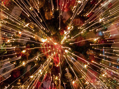 Photograph - Christmas Burst by Stewart Helberg