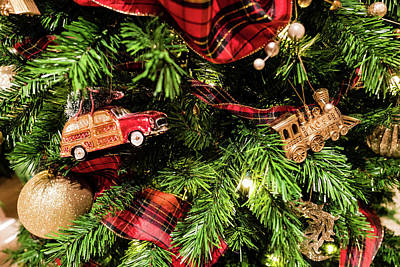Photograph - Christmas Car by M G Whittingham