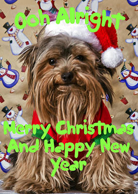 Christmas Card 1 Art Print by Dennis Hofelich