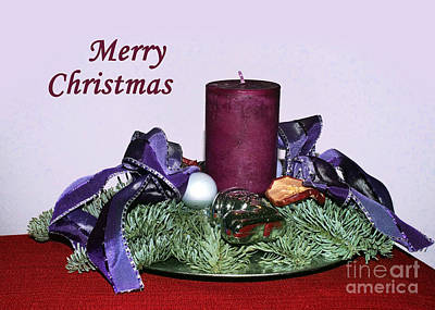 Photograph - Christmas Card 1 by Rudi Prott