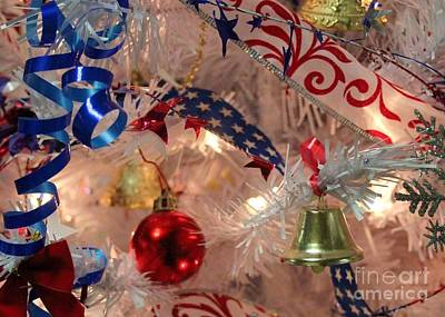 Anne Geddes Large Format Polaroids - Patriotic Christmas Tree by Robert Wilder Jr