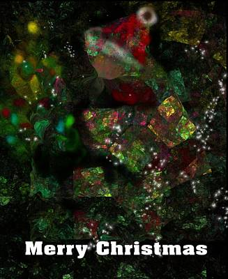 Digital Art - Christmas Card 2016-1 by David Lane