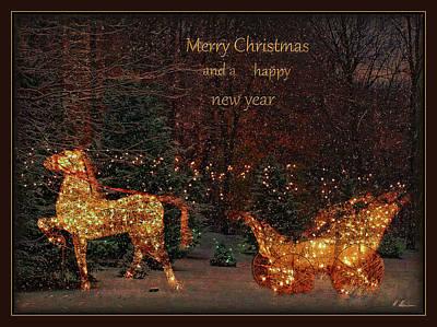 Photograph - Christmas Card by Hanny Heim
