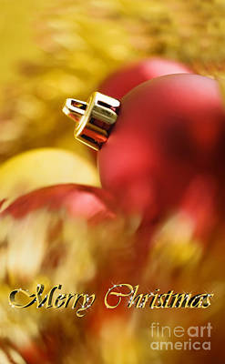 Photograph - Christmas Card by Silvia Ganora