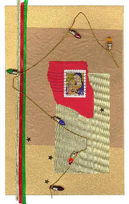 Mixed Media - Christmas Card by Steve Karol