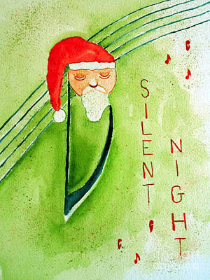 Painting - Christmas Carol Card by Sandy McIntire