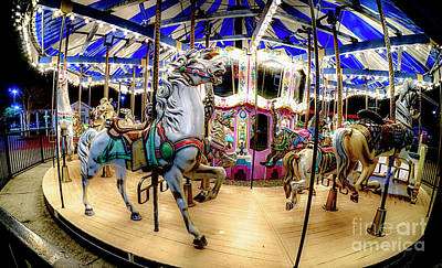 Photograph - Christmas Carousel by David Smith