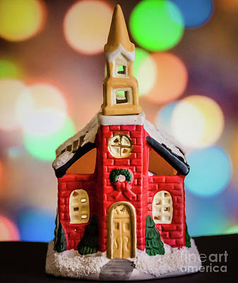 Photograph - Christmas Chapel by Andrea Anderegg