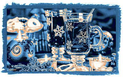 Punch Mixed Media - Christmas Cheer  by Garland Johnson