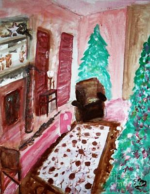 Painting - Christmas Cheer by Stanley Morganstein
