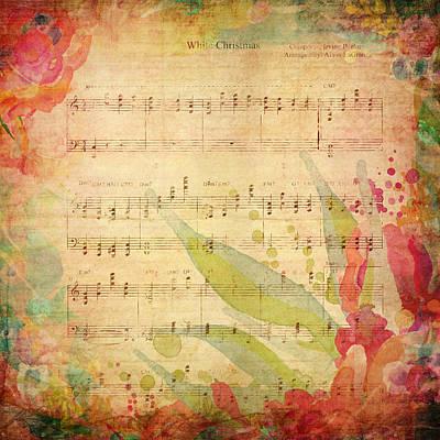 Crosby Painting - Christmas Chords by Amanda Lakey